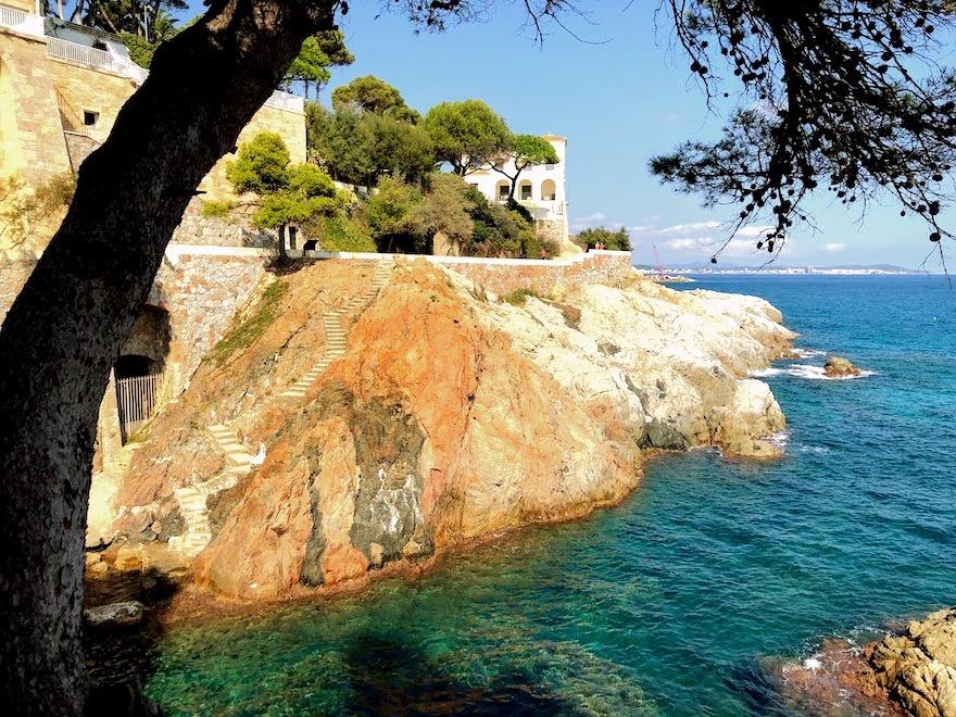 Camino de ronda de S'Agaró a Playa Sa Conca