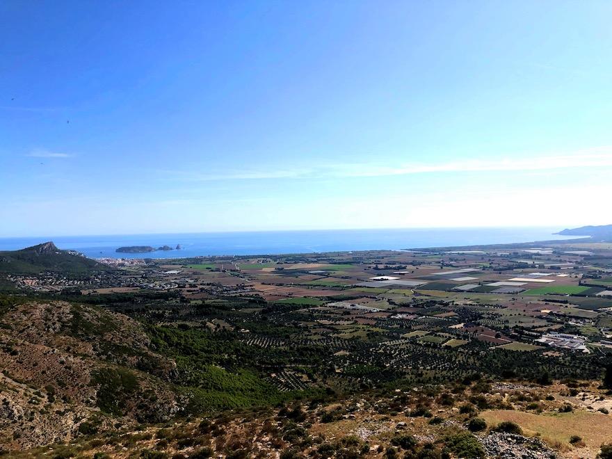 Vistas desde lo alto del Castillo