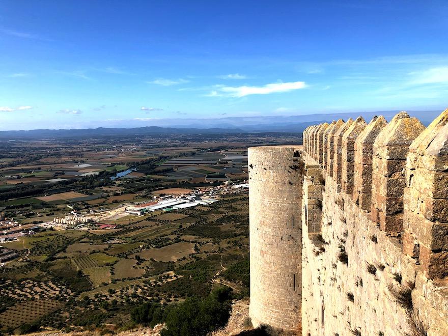 Espectacular panorámica desde el Castillo
