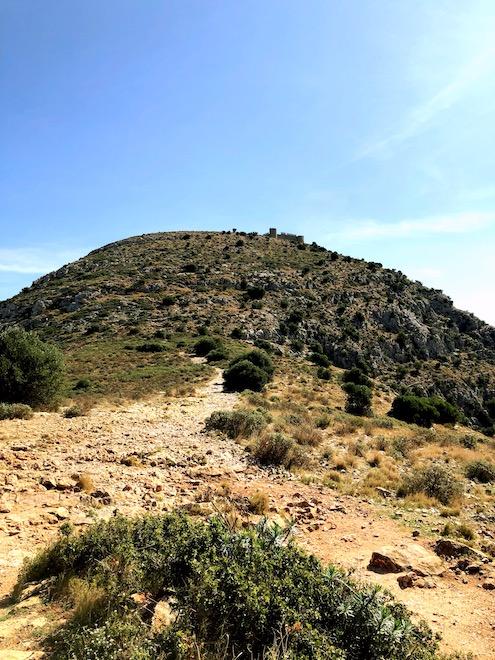 Subida al Castillo del Montgrí