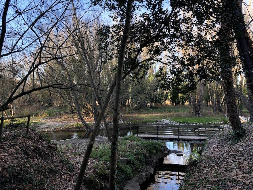 La Pilastra y el Río Ter